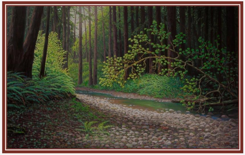 SANCTUARY | 30 x 48 | acrylic on canvas