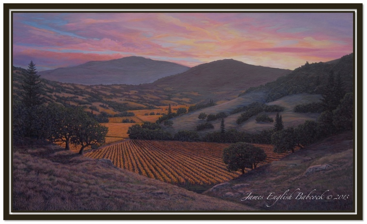 SONOMA SUNSET (WILLET COMMISSION)