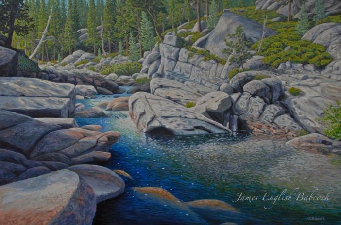 Deep River |40 x 60 | Acrylic on Canvas